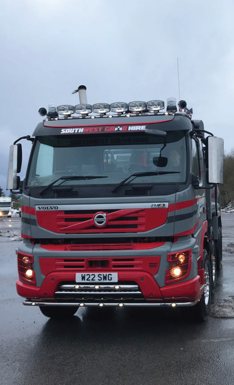 SW-Grad-Hire-Lorry-Front